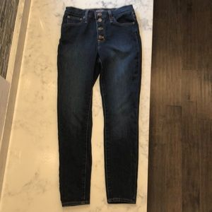 j Crew button fly jeans